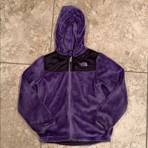 The North Face purple toddler jacket